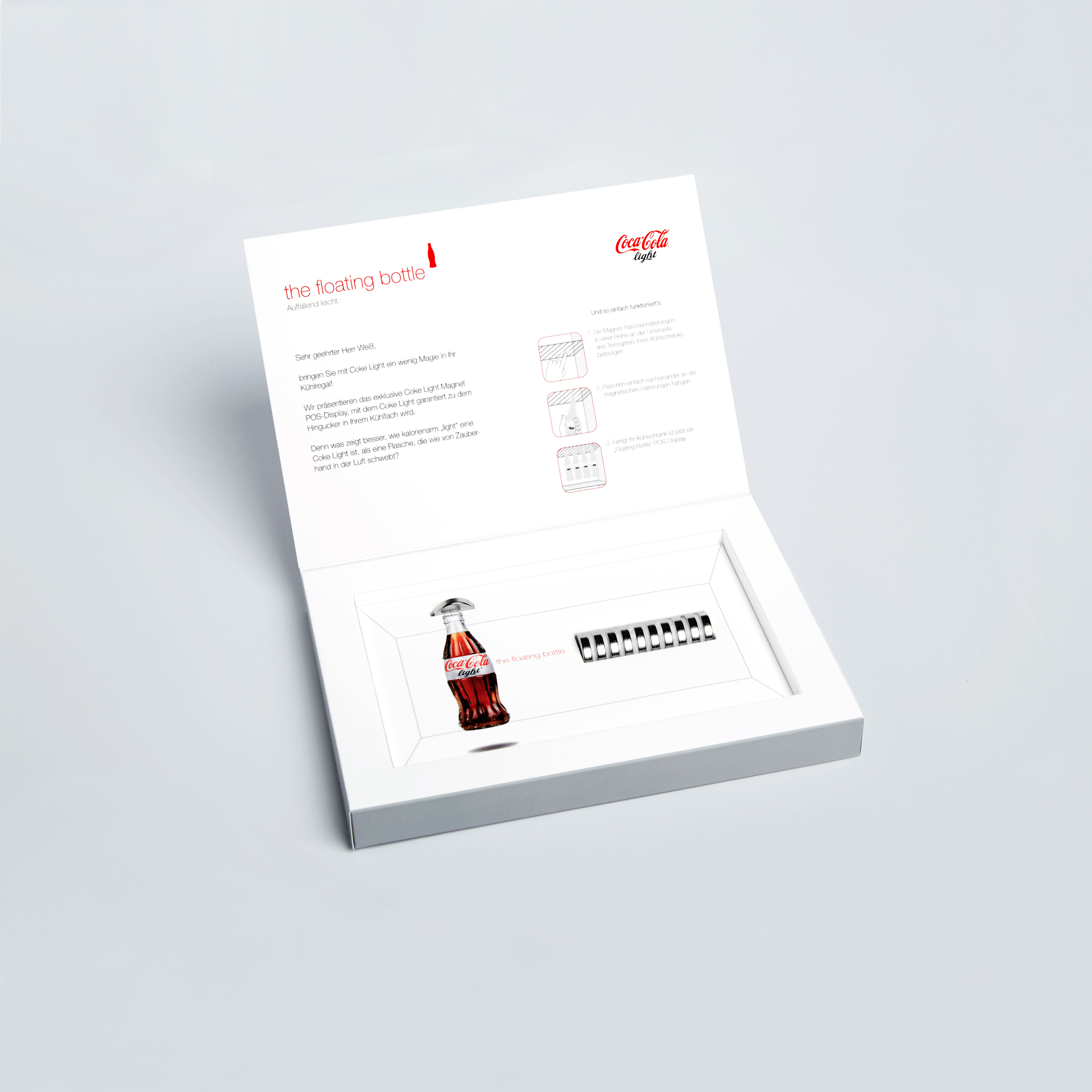 coca-cola light packaging design of mailing